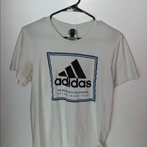 Adidas Men's white shirt